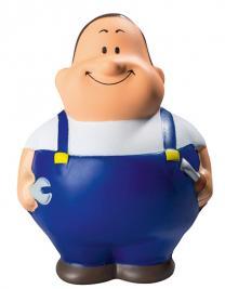 SQUEEZIES® Worker Bert®, Blue