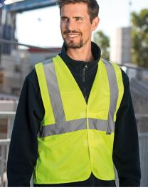 Warning Vest - 3 Reflective Stripes